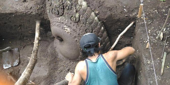 Situs Adan-Adan ditemukan ungkap eradaban era Kadhiri Singosari