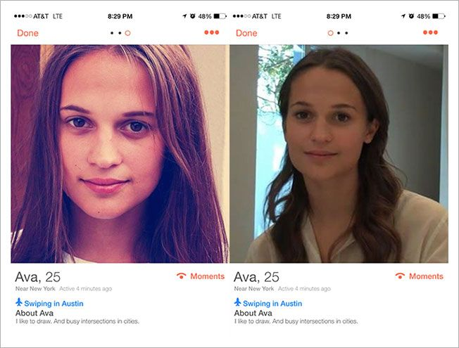 Tinder Users at SXSW Are Falling for This Woman, but She's Not What She Appears   Adweek