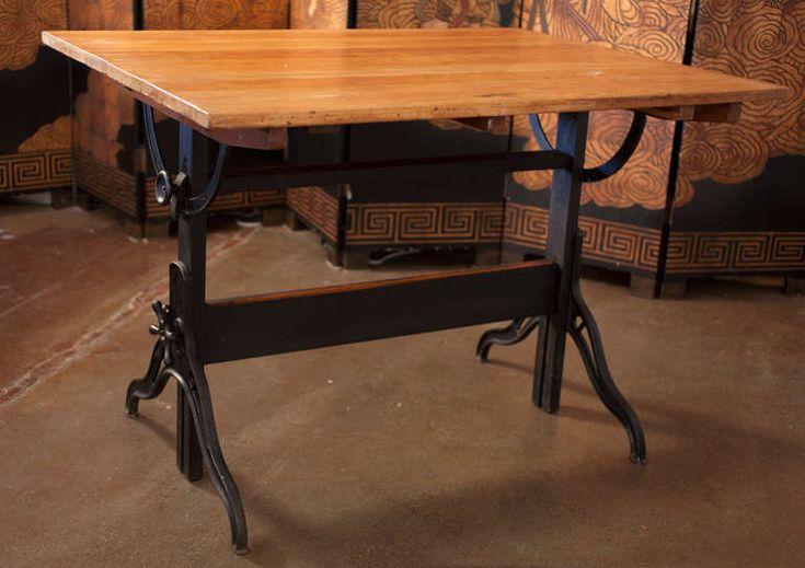Vintage Drafting Table By Hamilton Hey Homey Vintage