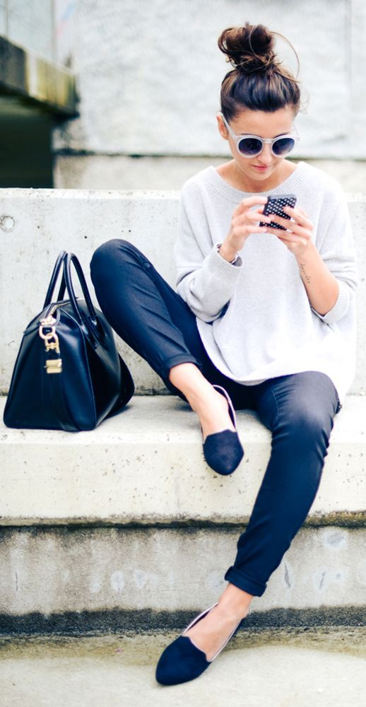 Keep it simple. Love the top knot - It's one of my go to styles!