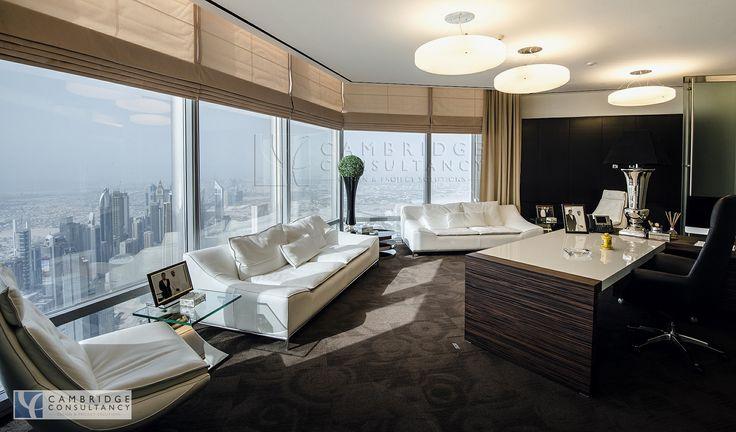 Honest Re Office Inside Burj Khalifa Full Floor Designed