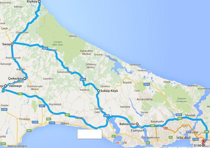 Motosikletle Kıyıköy | Ne Gördüm