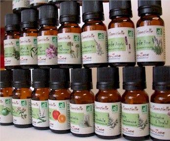 Huiles essentielles BIO d' Aroma-Zone
