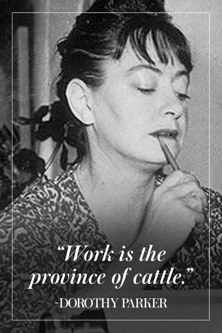 Uncollected Dorothy Parker