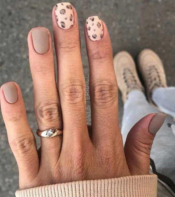 Cute Short Nail Art Designs To Shine This Season V 25 In 2020 Leopard Nails Animal Print Nails Nail Patterns