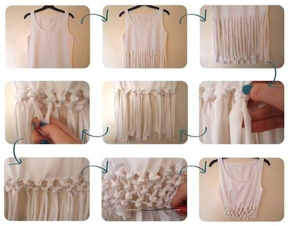 画像 : 【保存版】TシャツのリメイクDIYアイデア100選 - NAVER まとめ
