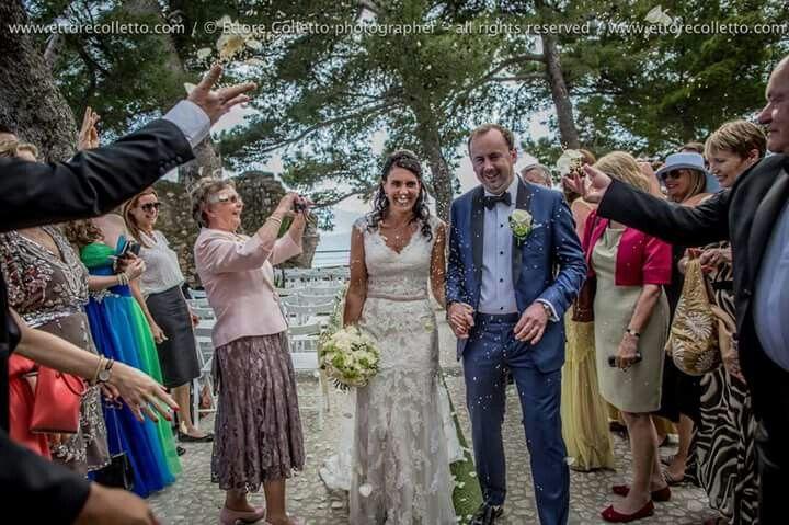 Cerimonia al castello di Castelmola per Meredith & Neil By Ettore Colletto - fotografo per matrimoni in Sicilia
