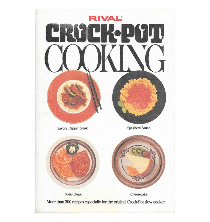 $8.95 Rival Crock-Pot Cooking | The classic slow cooker cookbook from the 1970s by ScottieBooks on Etsy #scottiebooks #booklovers