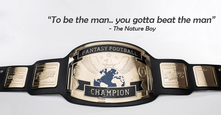 FantasyJocks.com - Fantasy Football Championship Belt - The Ultimate Trophy for serious Fantasy Leagues!