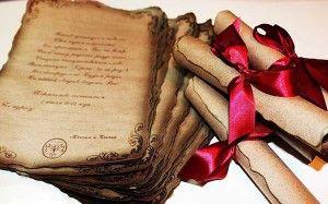 Пригласительные для свадьбы в греческом стиле