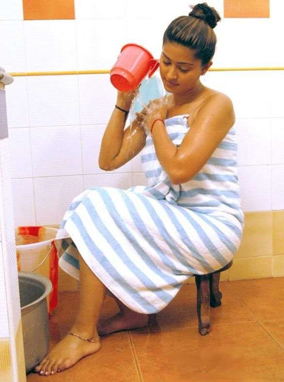 Apologise, but South indian girls in towel bathing dress