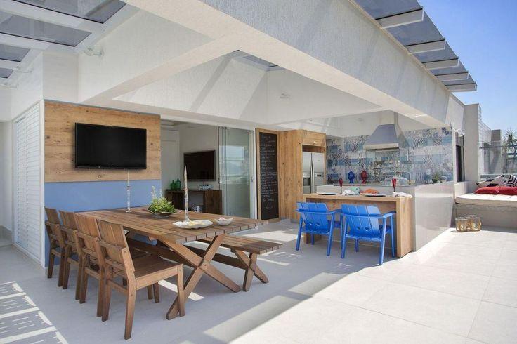 Outdoor-Küche: 45 Ideen der Dekoration mit Fotos   – Neue Dekoration Stile