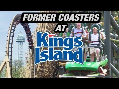 6 Former Coasters at Kings Island - http://rollercoasterhq.net/6-former-coasters-at-kings-island/