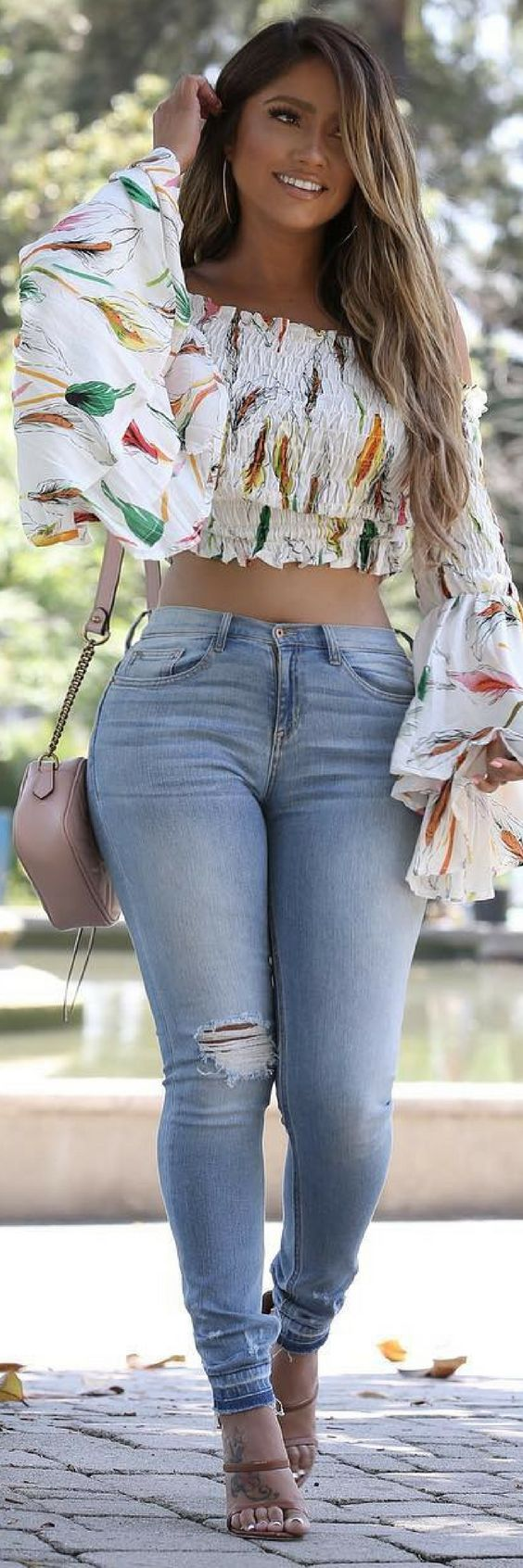 SUMMER TIME GLOW // Summer Outfit Idea by Jessica Burciaga