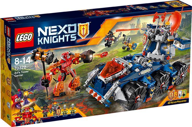 LEGO NEXO KNIGHTS 70322 Axls tårnbærer eller andet fra Lego Nexo Knights