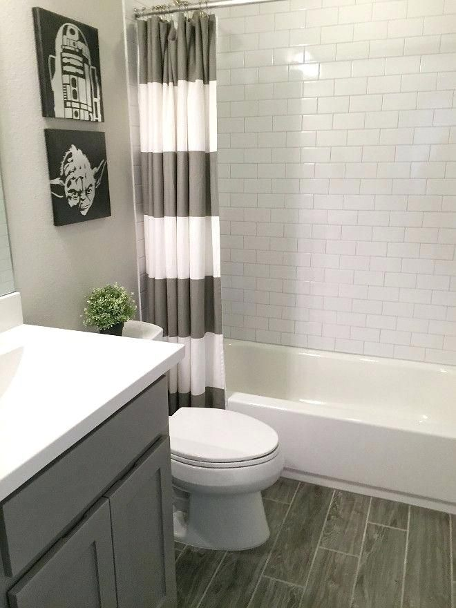 Grey Bathroom Ideas Small Boys Bath The Dark Cabinet Paint Tile Light Grey Bathrooms Decorating Ide Gray Bathroom Decor Diy Bathroom Makeover Guest Bathrooms