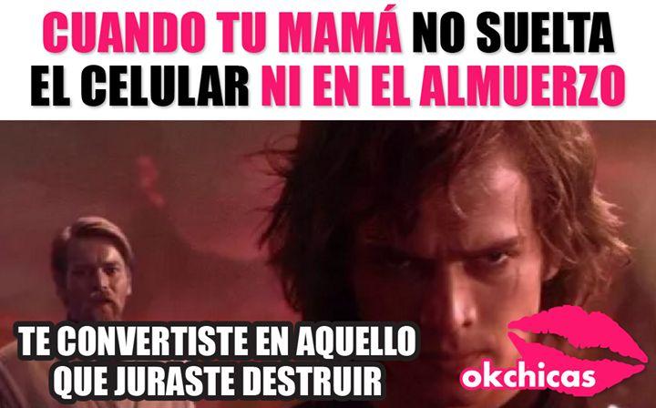 Etiquetare a mi mamá y correré por mi vida!