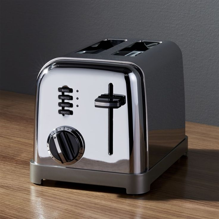 Cuisinart ® Classic 2-Slice Toaster - Crate and Barrel