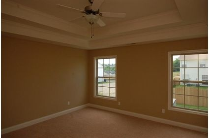 Tray Ceiling In The Master Bedroom The Rockwood Pinterest Master Bedrooms The O 39 Jays And