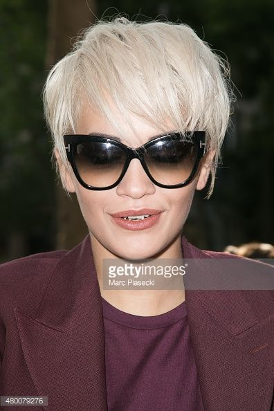 singer rita ora wearing tom ford cat eye sunglasses. Black Bedroom Furniture Sets. Home Design Ideas