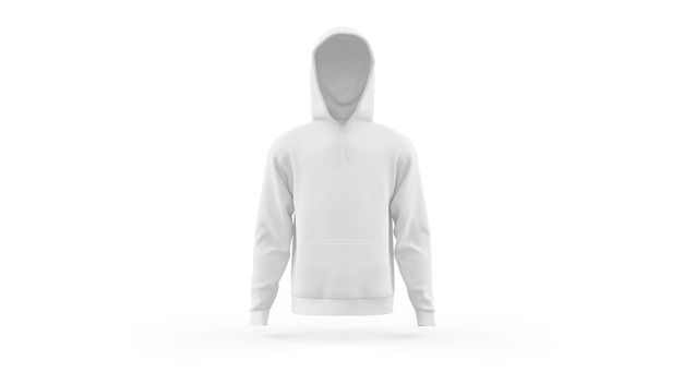 Download Download White Hoodie Mockup Template Isolated Front View For Free In 2020 Hoodie Mockup White Hoodie Mockup