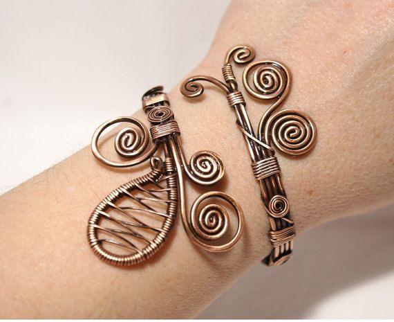 17 meilleures id es propos de bracelet en cuivre sur pinterest bijoux en fil de cuivre. Black Bedroom Furniture Sets. Home Design Ideas