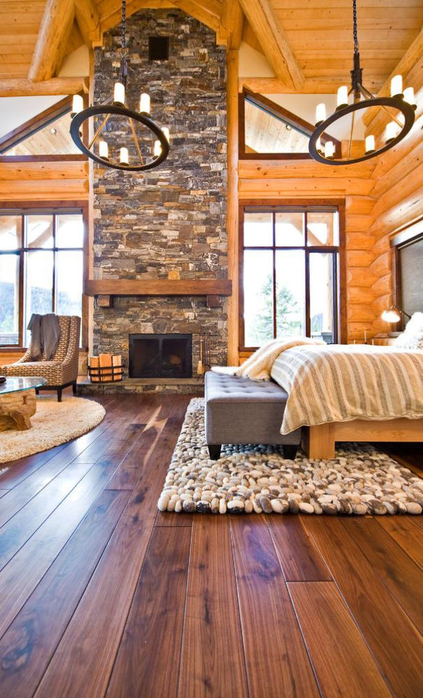 Rustic Bedrooms Canadian Log Homes CROWN VALLEY