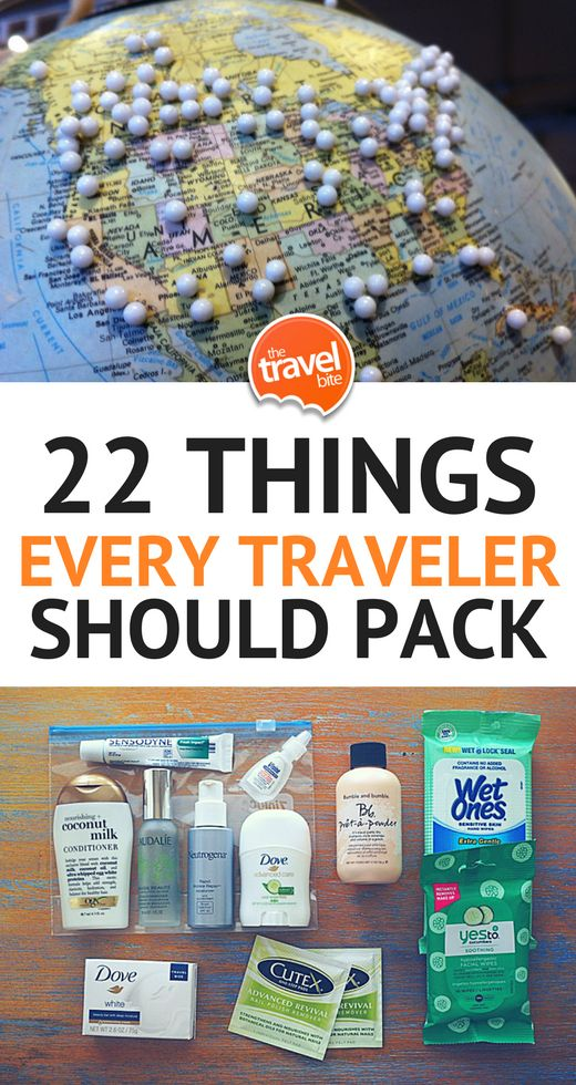 Travel Essentials: 22 Things Every Traveler Should Pack – Isabel Hardy