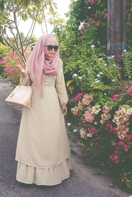 I really love POPLOOK dresses!#hijab#muslimah
