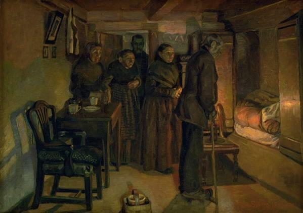 Fritz Syberg (1862-1939) Dødsfaldet