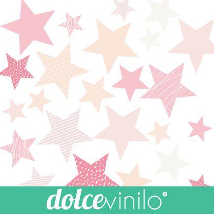 Estrellas habitaci n infantil en 2019 vinilo infantil for Cuartos decorados con estrellas