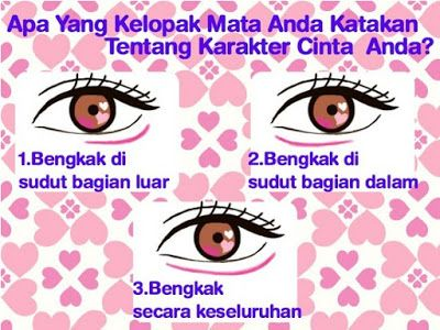 3 Arti Kelopak Mata Yang Mencerminkan Percintaan Manusia