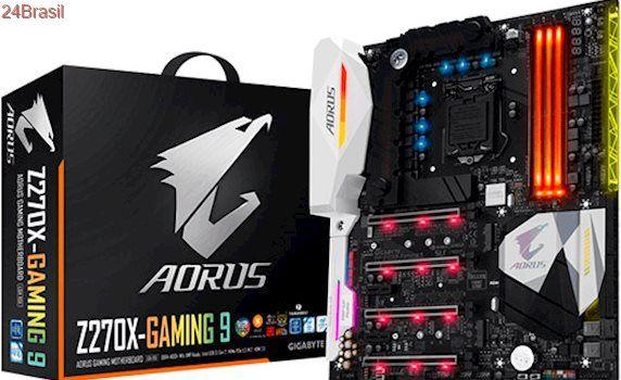 Gigabyte revela placas-mãe premium Gaming Aorus para Intel Core de 7ª geração