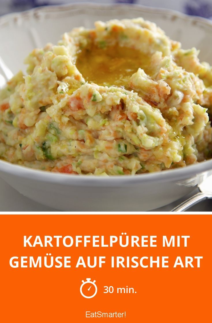 Kartoffelpüree mit Gemüse auf irische Art - smarter - Zeit: 30 Min. | eatsmarter.de