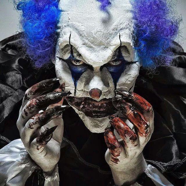 Evil clown. ❣Julianne McPeters❣ no pin limits