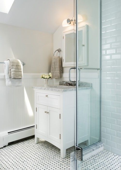 106 Best White Subway Tile Bathrooms Images On Pinterest | Room, Home And Bathroom  Ideas