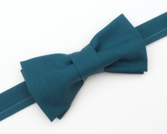 Teal Wedding Bow tie, Men's Teal Bow tie, Adult Teal by FlyTiesforFlyGuys.Etsy.com