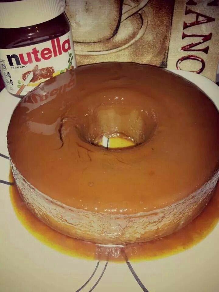 Nutella Flan