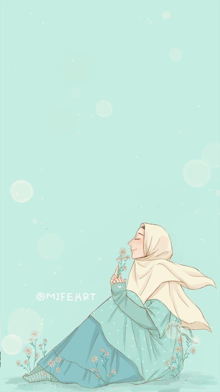 Gambar Anime Muslimah Elit Oleh Nurlita Ilustrasi Karakter