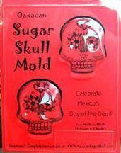MexicanSugarSkull.com's Oaxaca Medium 2 piece Sugar Skull Mold (many other sizes available)