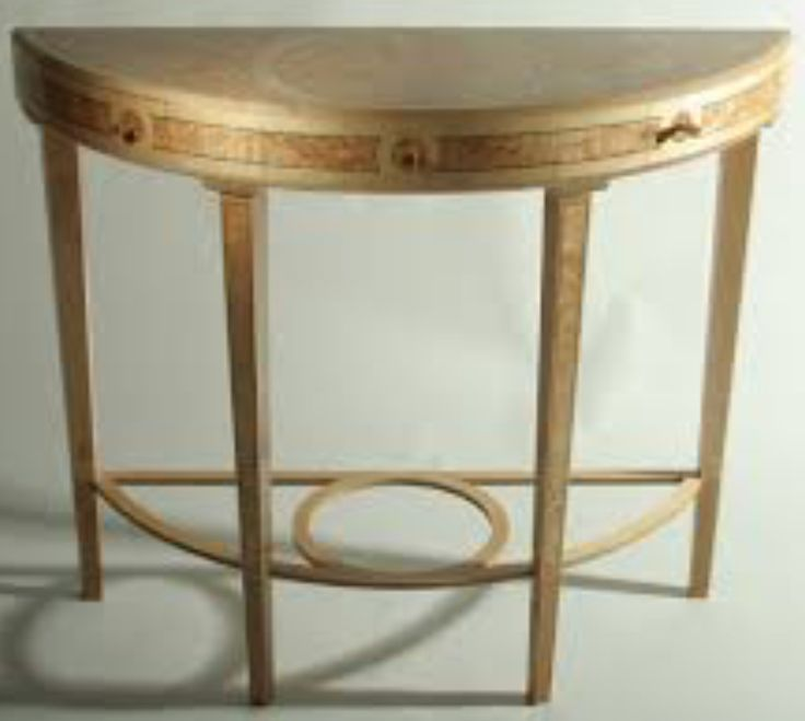 Demi Lune Hall Table By Ian Parker