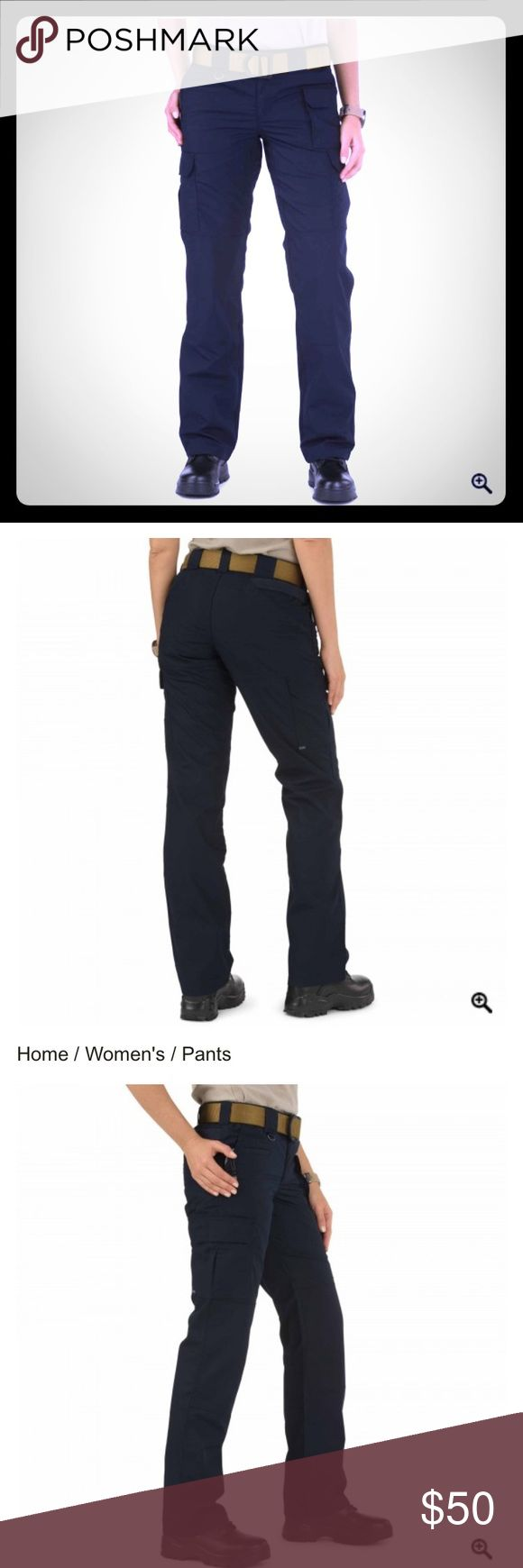 Women's 511 tactical pants Great for hiking or even just daily wear! Never worn. Navy blue! 5.11 Tactical Pants