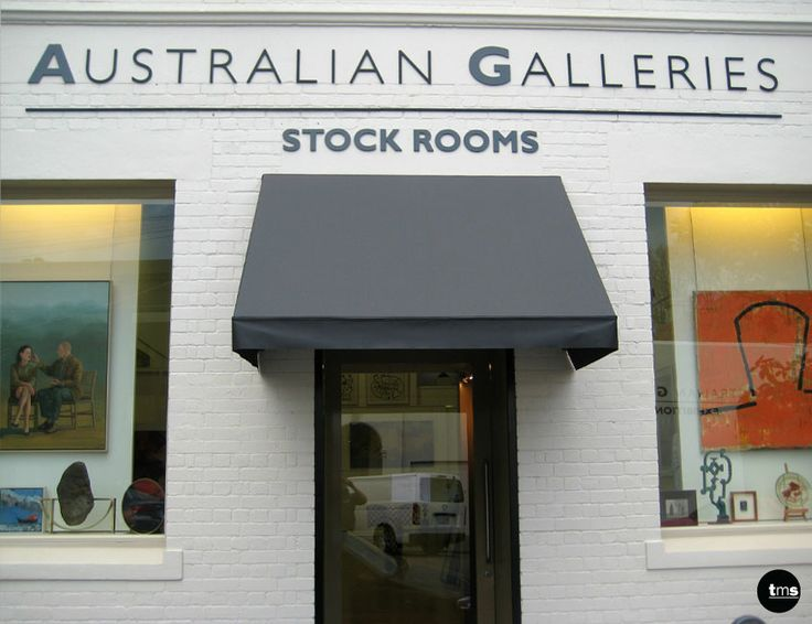Australian Galleries | external building id, 3D Letters