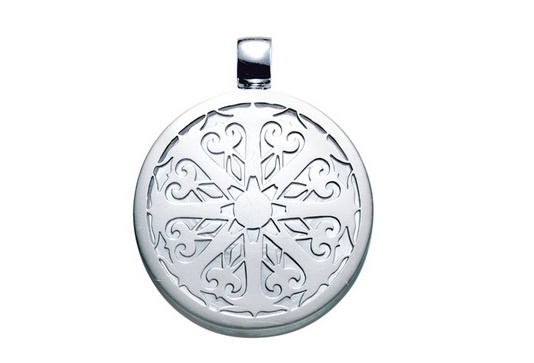 Imagine an alternative for high level performance without the need for energy pills, food or drinks. The Anahata Chi Pendant features an ornate sun-ray design in 925/- sterling silver that encases technically engineered natural minerals which have been structurally bonded in glass at a molecular level, using high heat fusion methods