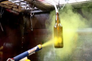 Powder coating is an electrostatic process in which polymers or plastics are applied in a dry spray. Typically, this process is used for metals, but with the right...