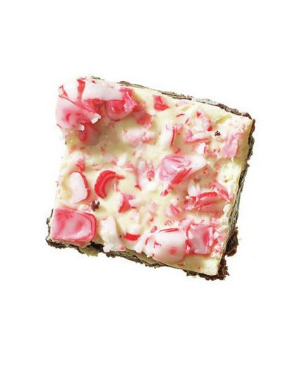 White Chocolate and Peppermint Brownies | Easy Christmas Cookies | Real Simple