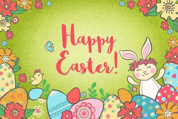 Big Easter Set by romawka on @creativemarket