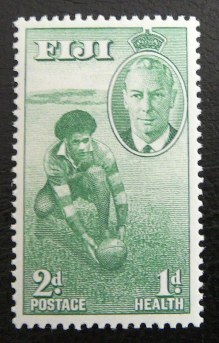 Fiji 1951 - For more #rugby collectables check out my blog: http://www.rocky-rugby.com/