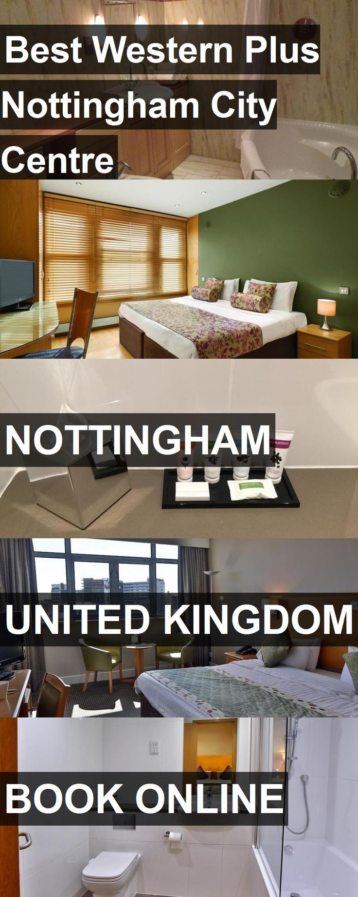Hotel Best Western Plus Nottingham City Centre in Nottingham, United Kingdom. For more information, photos, reviews and best prices please follow the link. #UnitedKingdom #Nottingham #travel #vacation #hotel