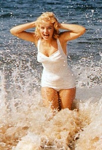 i love her so  much: At The Beaches, Old Schools, White Bath Suits, Marilyn Monroe, Retro Swimwear, Norma Jeans, Beaches Shooting, People, The Waves